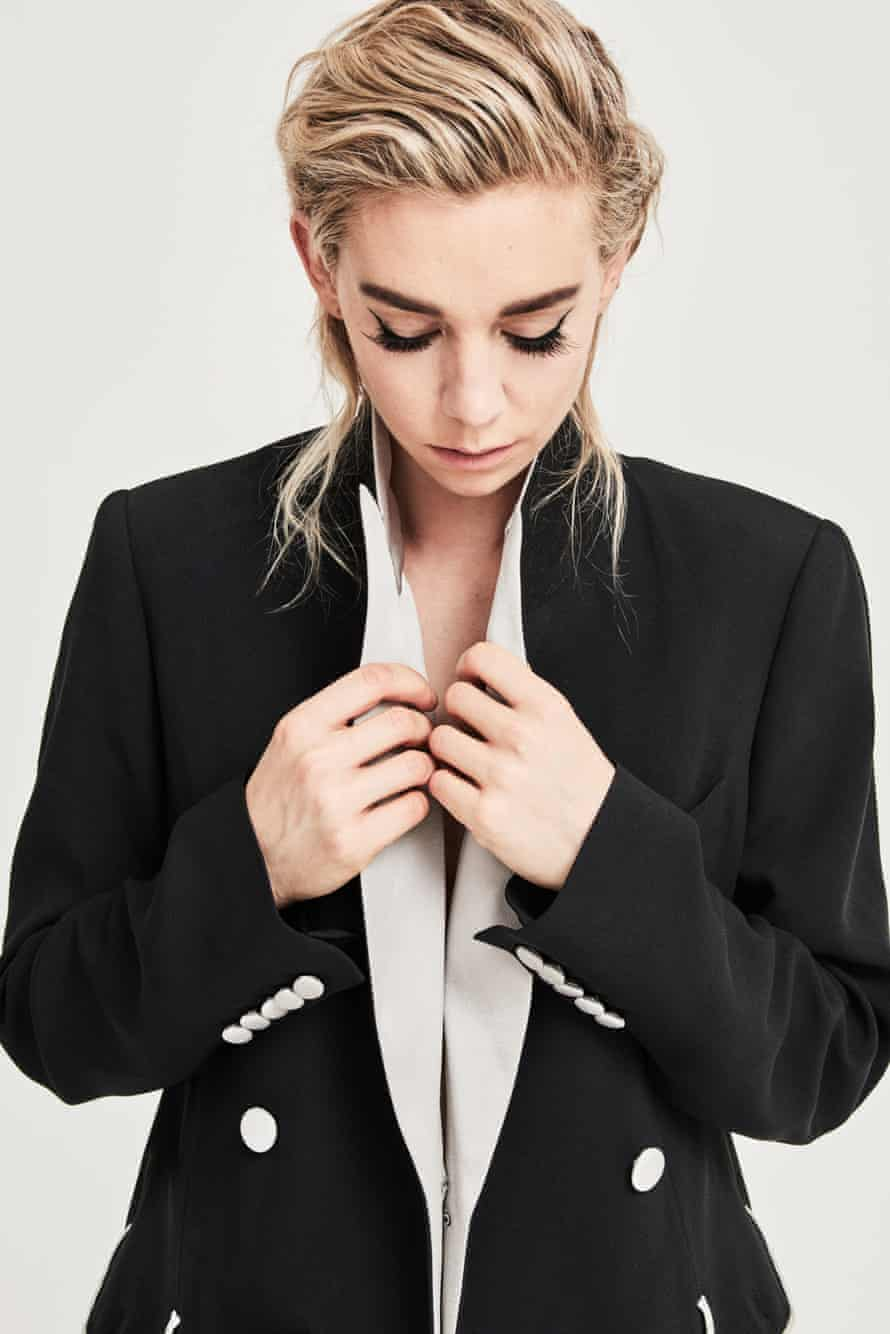 'Working with Tom Cruise on Mission: Impossible I had to train really hard. He is such a pro and always wants everything executed at a high level': Vanessa Kirby wears jacket by Joseph.