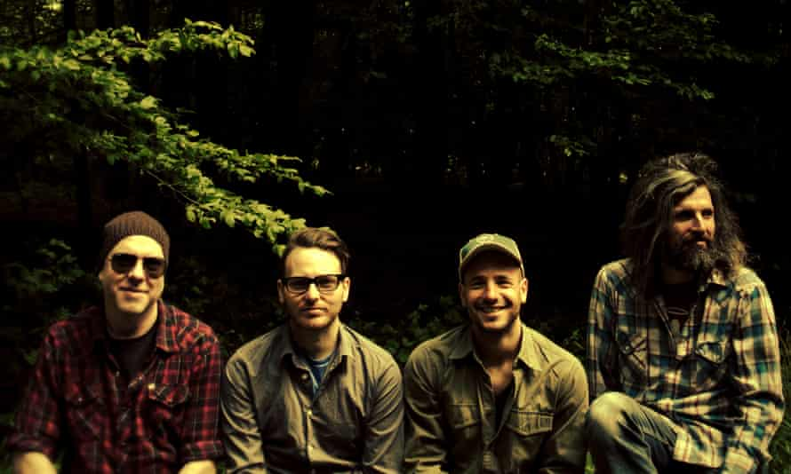 California greening … Turin Brakes in Redwood Forest national and state parks.