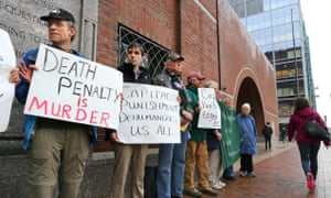 Death penalty protesters Boston