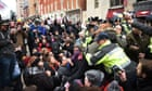 Dozens arrested on inauguration day as protests erupt in Washington