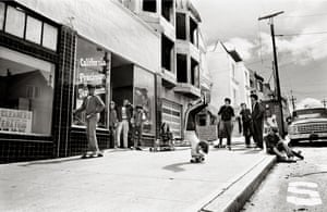 Ninth Avenue Locals in San Francisco, 1977