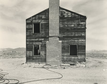 Typical American House, Nevada Test Site, Yucca Flat, Apple II Test Site, by Mark Ruwedel.