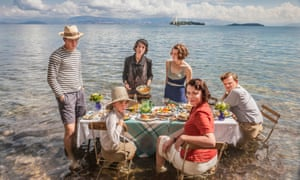 The recent ITV drama The Durrells, staring Josh O'Connor as Larry Durrell, Milo Parker as Gerry Durrell, Anna Savva as Lugaretza, Daisy Waterstone as Margo Durrell, Keeley Hawes as Louisa Durrell and Callum Woodhouse as Leslie Durrell.