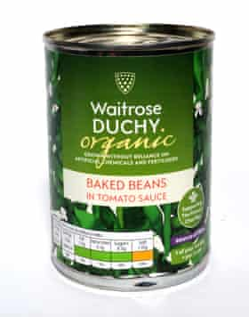 Waitrose baked beans