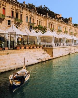 Valletta waterfront.