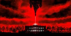 Christoph Niemann - Trump, Putin, and the New Cold War, 2017