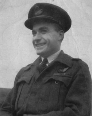 Battle of Britain veteran Terry Clark, who has died aged 101.