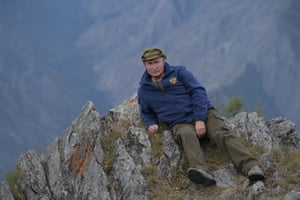 Putin in Siberia