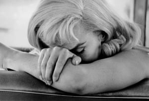"""Cornell Capa: Marilyn Monroe during the filming of The Nevada, 1960Buy the print'Our obsession isn't going to stop for a long time yet... There is no one remotely close to Monroe and I don't think there ever will be.' David Thomson, quoted in """"Why do we still love Marilyn Monroe?"""" by Lena Corner, The Independent, 5 November, 2010"""