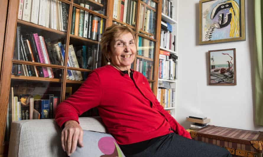 Paula Rego at her home in London.
