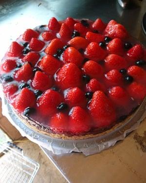 Andrea's strawberry tart