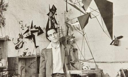 Robert Klippel in his Potts Point workshop