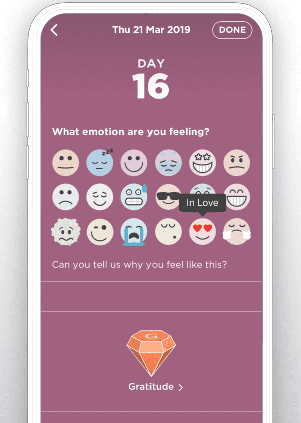 The Resilience Project Wellbeing App.