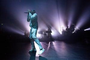Kano at London's Royal Albert Hall, 7 October 2019