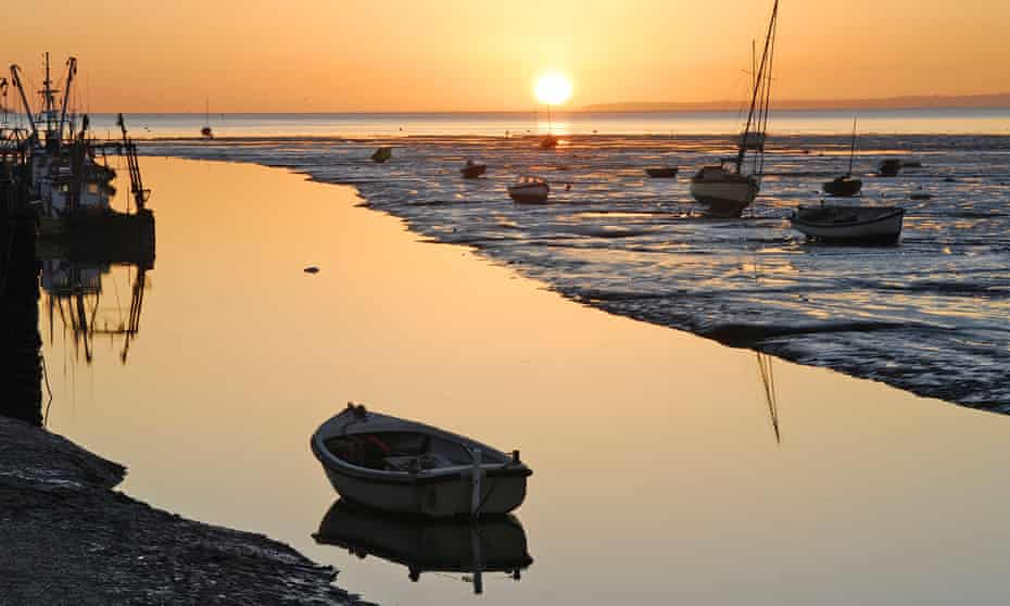 Leigh-on-Sea is a half hour's drive from Chelmsford.