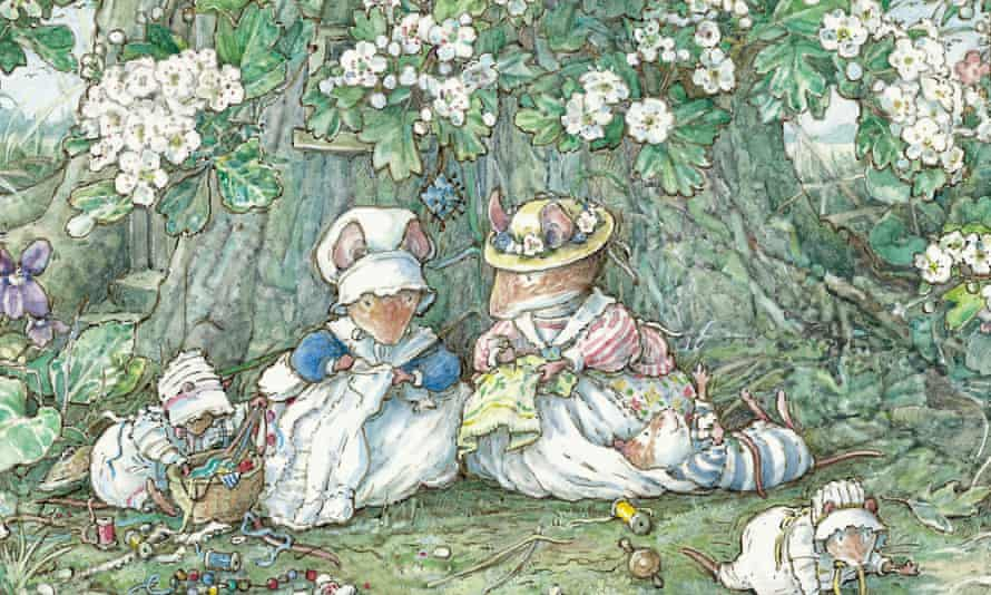 Brambly Hedge introduced the charming world of anthropomorphic mice who live in the roots and trunks of trees and hedgerows.