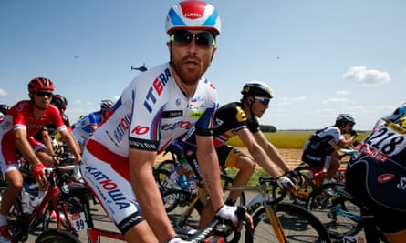 Luca Paolini was thrown off the Tour de France after testing positive for cocaine.