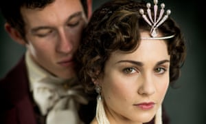 Callum Turner and Tuppence Middleton star as siblings Anatole and Hélène Kuragin in Andrew Davies's adaptation of Tolstoy's War and Peace.