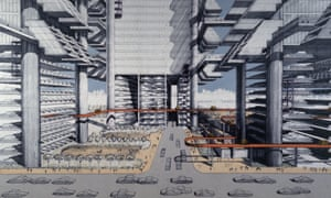 Robert Moses' Proposal for the Lower Manhattan Expressway (LOMEX).