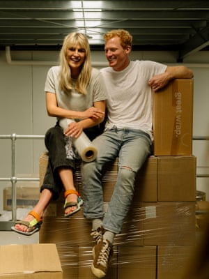 Jordy and Julia Kay, founders of Great Wrap.