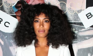 Solange Knowles: excited to share her work.