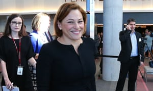 Queensland deputy premier Jackie Trad has launched the 'Tracks to Treaty' commitment on the last day of Naidoc Week