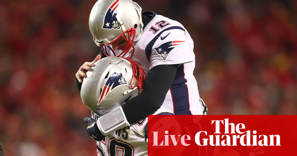 AFC Championship Game  New England Patriots 37-31 Kansas City Chiefs – as  it happened! e29d3b17ba2c