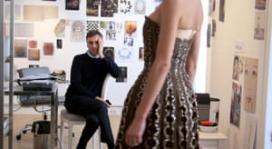 Raf Simons in a scene from 2014's 'Dior and I'.