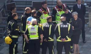 Theresa May was criticised for speaking with fire fighters after Grenfell but ignoring the bereaved.