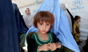 Returnees in Kabul … the UN counted 1.8 million internally displaced people (IDPs) in Afghanistan at the end of 2016.