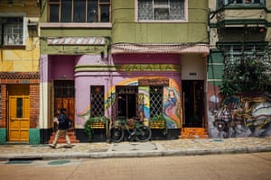 Colours of La Candelaria. We are a French-American couple from San Francisco wrapping up our year-long trip around the world. La Candelaria is a historic yet youthful district full of energy and colourful street art that reminds us of our neighbourhood back home.