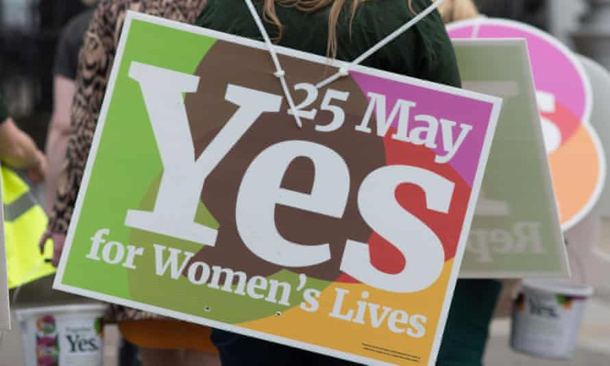 Legal abortion services were first offered in Ireland on 1 January after 66% voted to change the law.