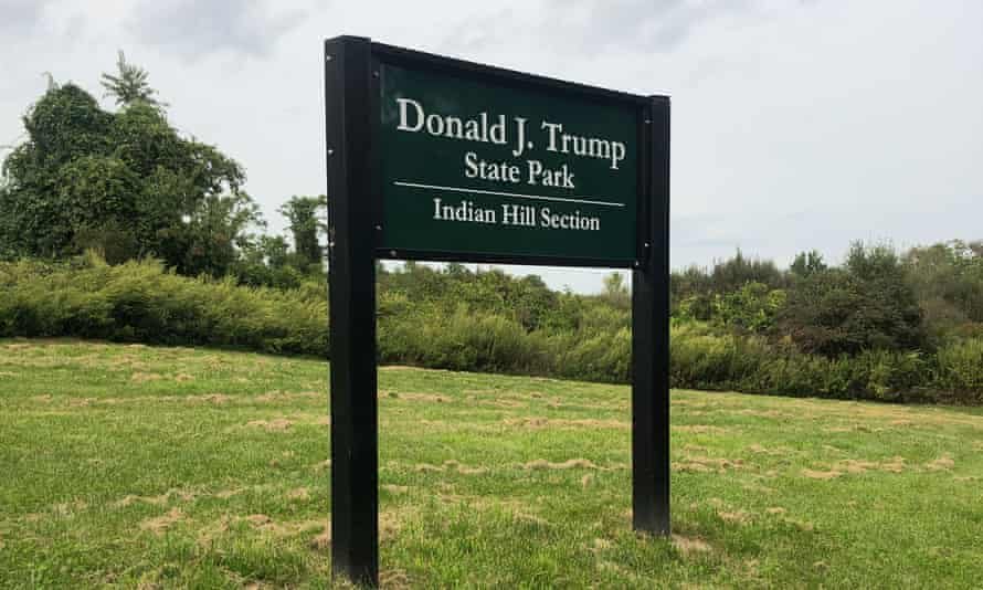 Donald Trump state park, which could perhaps someday be Sojourner Truth state park.