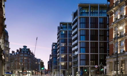 The exclusive One Hyde Park development in London