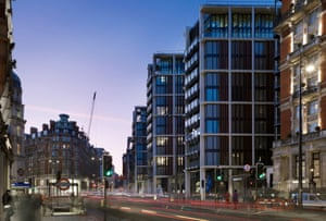 One Hyde Park, Knightsbridge, London, Sw1 - a famously under-occupied luxury housing development.