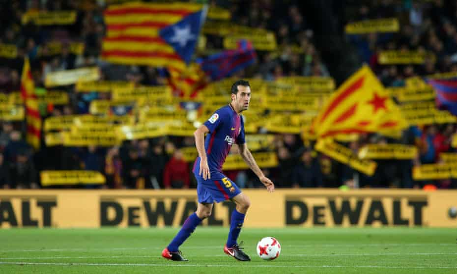 Sergio Busquets has steadfastly refused to change his playing style as managers and almost all of those around him have moved on.