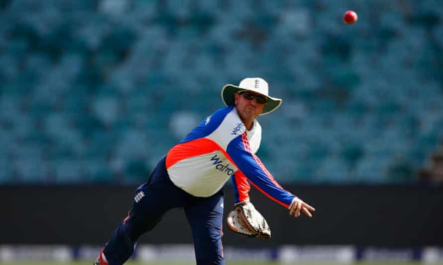 Trevor Bayliss believes fielding is one area where the English game could improve: 'For the Australian sides, the technique work is done at a younger age.'