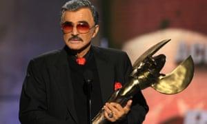 Burt Reynolds, recipient of the Taurus lifetime achievement award for an action movie star, died aged 82.