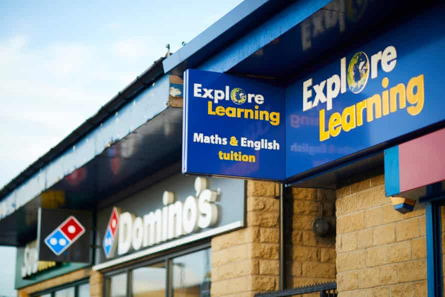 The Bradford branch of Explore Learning, which now has 139 outposts across the UK
