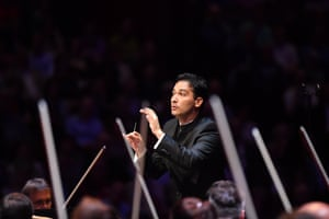 London, UK: Andrés Orozco-Estrada conducts the Vienna Philharmonic Orchestra in Dvořák's New World Symphony as part of the the Proms season at the Royal Albert Hall