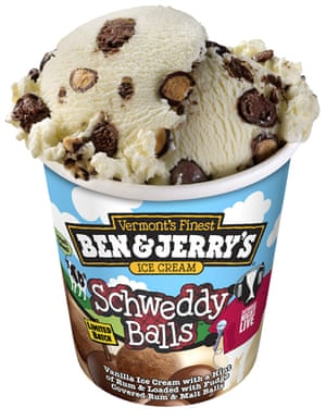 Ben & Jerry's Schweddy Balls flavor was available only for the 2011 holiday season.