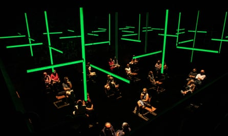 The Donmar was the first theatre to reopen its doors with Blindness, an immersive audioplay that opened in August.