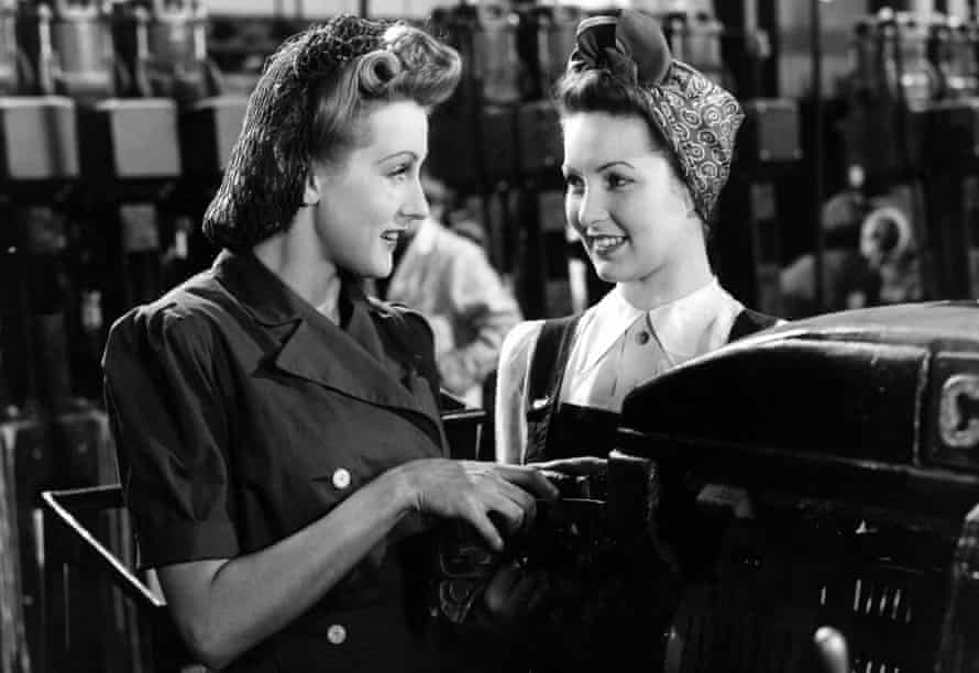 Anne Crawford and Patricia Roc in Millions Like Us.