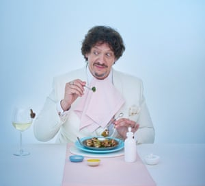 Jay Rayner shot for OM for his Last Supper book
