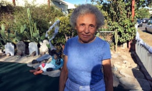 Jataun Valentine, 79, who lives in a house her grandfather built, says long-term neighbours are vanishing.