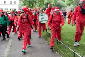 BlockG20 – Colour the Red Zone protesters