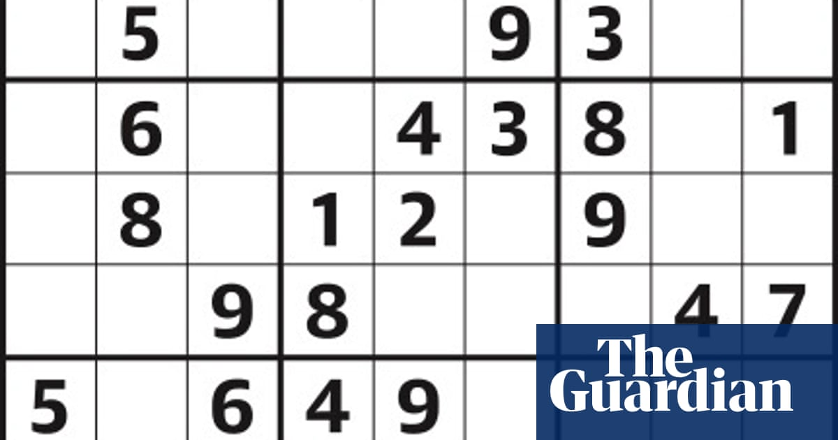Sudoku 4,173 easy | Life and style | The Guardian