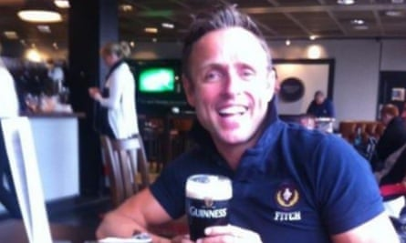 Adrian Murphy was described by his brother as 'an inspirational Irishman'.