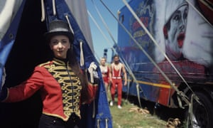 Ellie Debney, ringmistress with Circus Gerbola, Ireland, since 2016.