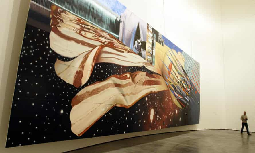 Star Thief by James Rosenquist at the Guggenheim in Bilbao in 2004.